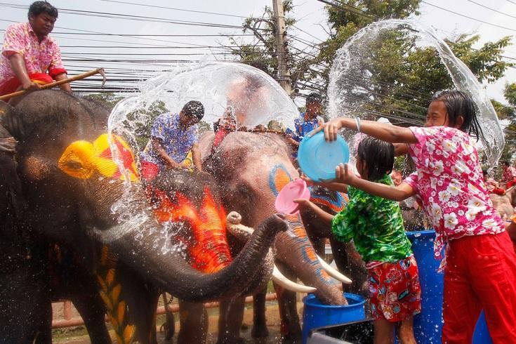 Новый год в тайланде апрель