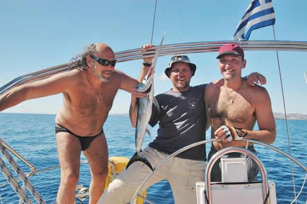 морская рыбалка на крите
