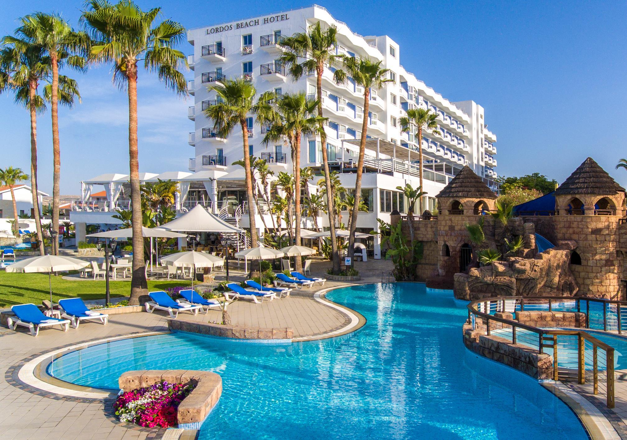 Кипр ТОП-10 отелей 4 для отдыха с ДЕТЬМИ 2016 Кипр