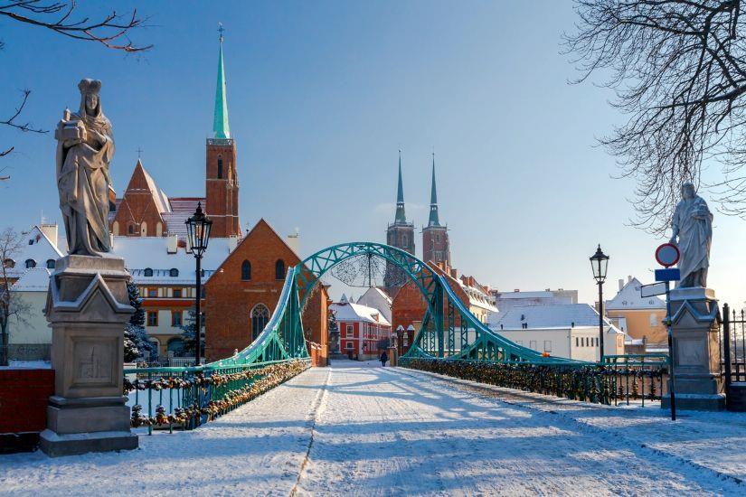 Картинки по запросу Вроцлав зимний