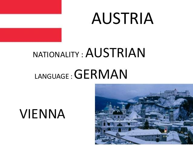 Austrian language