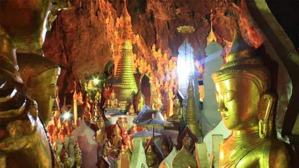 Myanmar_Pindaya_caves