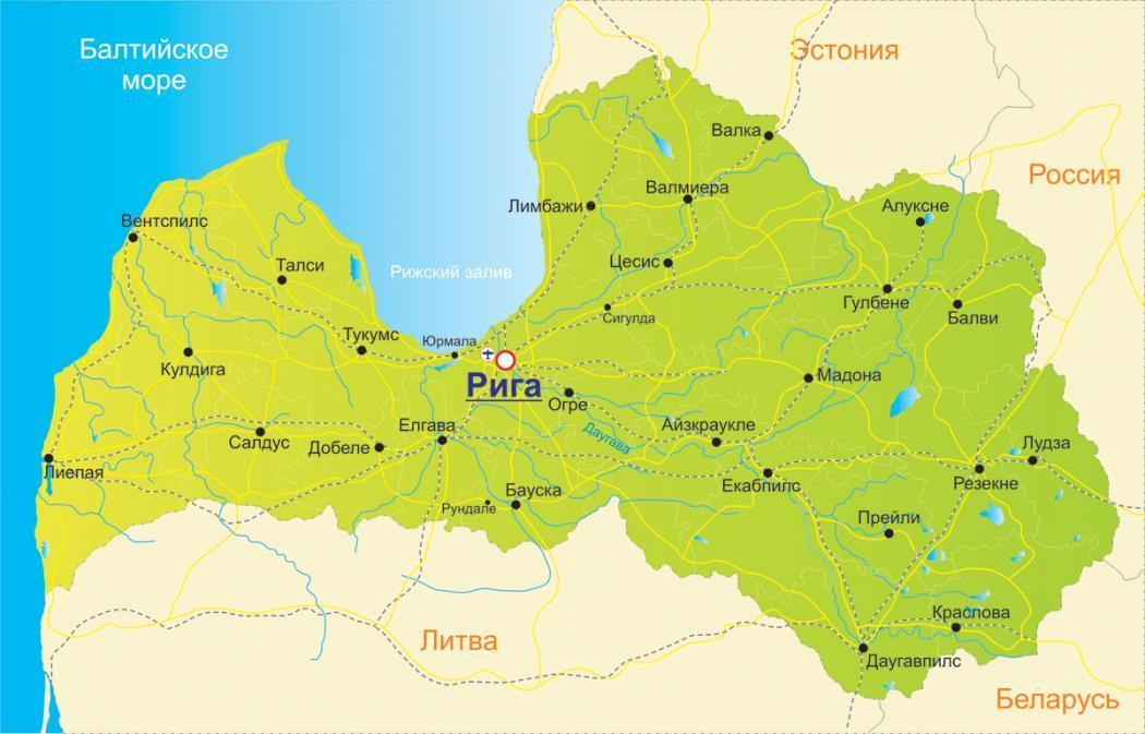 Latvia_map