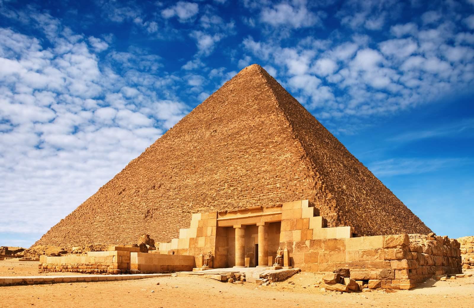 Страна сфинксов, пирамид и фараонов